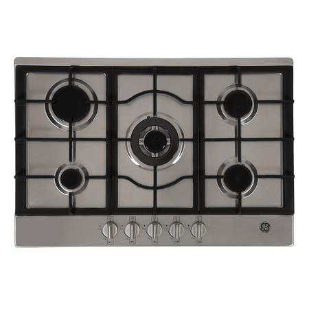 Anafe a gas 76 cm Inoxidable GE Appliances - AGGE76IVS