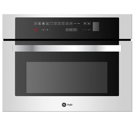 Horno Eléctrico a vapor 46 cm Inoxidable GE Appliances - HVGP4561YI